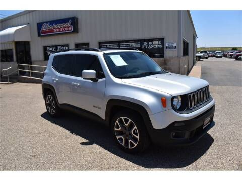 2015 Jeep Renegade for sale at Chaparral Motors in Lubbock TX