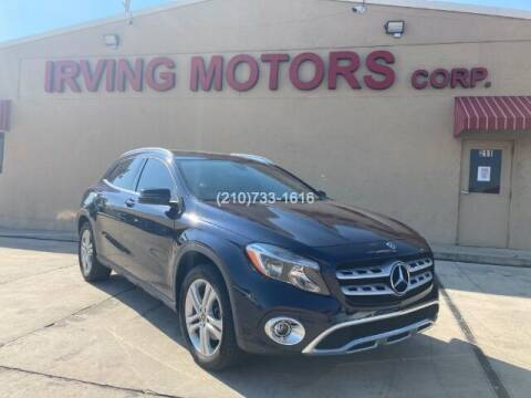 2018 Mercedes-Benz GLA for sale at Irving Motors Corp in San Antonio TX