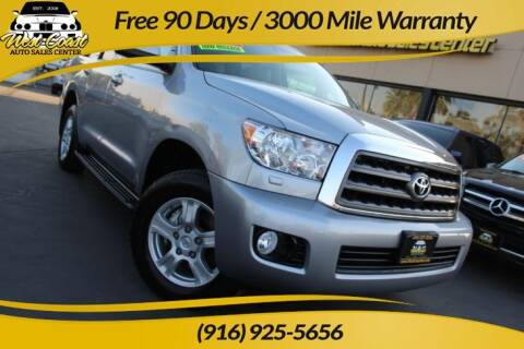 2016 Toyota Sequoia for sale at West Coast Auto Sales Center in Sacramento CA