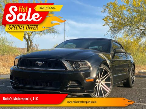 2014 Ford Mustang for sale at Baba's Motorsports, LLC in Phoenix AZ
