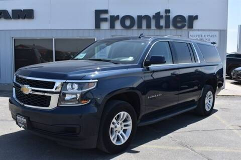 2020 Chevrolet Suburban for sale at Frontier Motors Automotive, Inc. in Winner SD