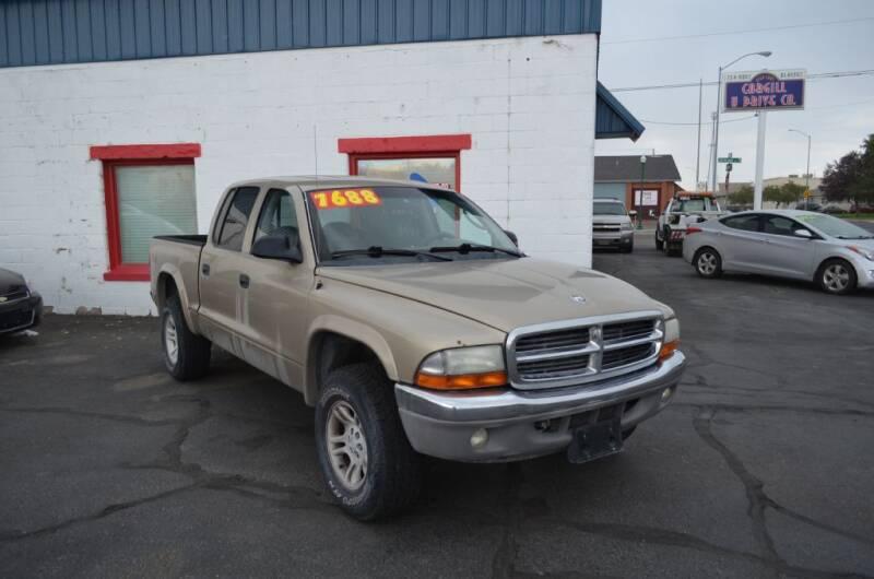 2003 Dodge Dakota for sale at CARGILL U DRIVE USED CARS in Twin Falls ID