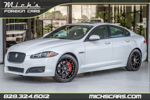 2015 Jaguar XF for sale at Mich's Foreign Cars in Hickory NC