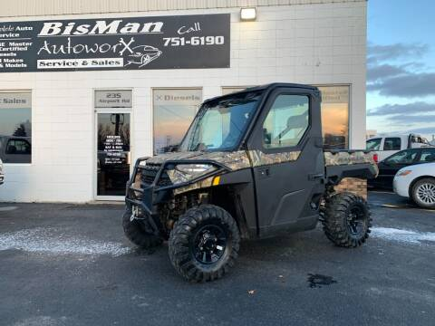 2018 Polaris Ranger for sale at BISMAN AUTOWORX INC in Bismarck ND
