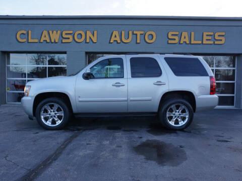 2007 Chevrolet Tahoe for sale at Clawson Auto Sales in Clawson MI