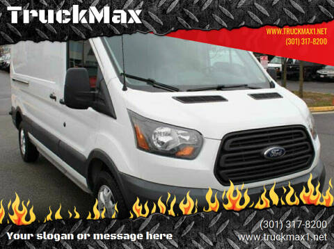 2015 Ford Transit Cargo for sale at TruckMax in N. Laurel MD