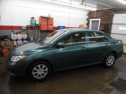 2009 Toyota Corolla for sale at East Barre Auto Sales, LLC in East Barre VT