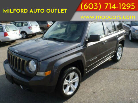2014 Jeep Patriot for sale at Milford Auto Outlet in Milford NH