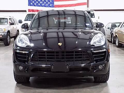 2017 Porsche Macan for sale at Texas Motor Sport in Houston TX