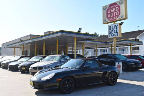 2003 Porsche Boxster for sale at Houston Used Auto Sales in Houston TX
