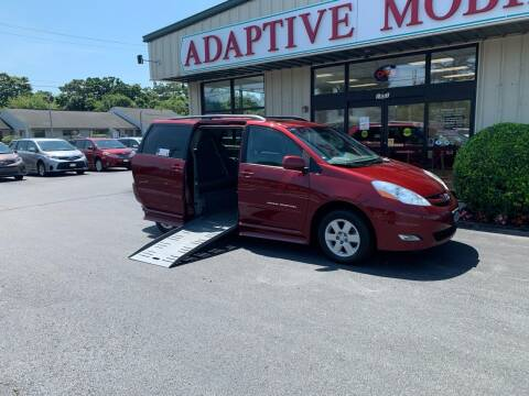 2010 Toyota Sienna for sale at Adaptive Mobility Wheelchair Vans in Seekonk MA