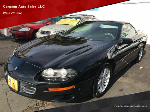 2001 Chevrolet Camaro for sale at Corazon Auto Sales LLC in Paterson NJ