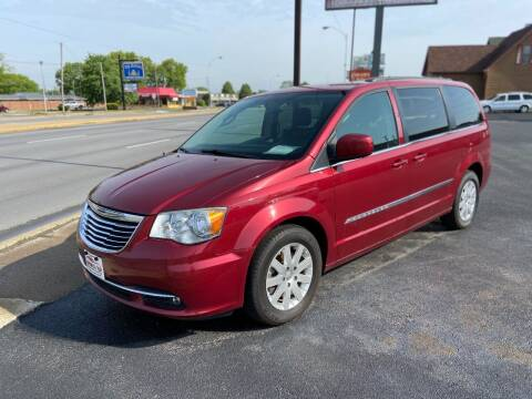 2014 Chrysler Town and Country for sale at Approved Automotive Group in Terre Haute IN
