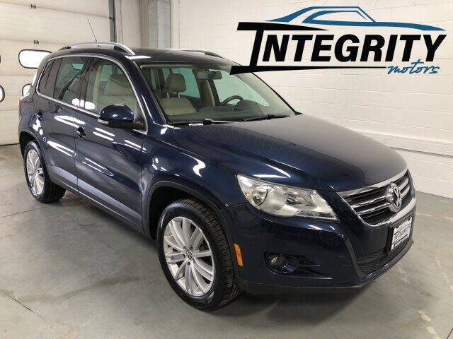 2011 Volkswagen Tiguan for sale at Integrity Motors, Inc. in Fond Du Lac WI