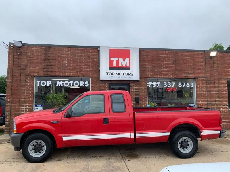 2002 Ford F-250 Super Duty for sale at Top Motors LLC in Portsmouth VA