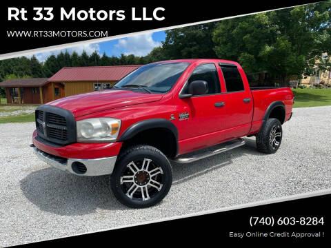 2007 Dodge Ram Pickup 2500 for sale at Rt 33 Motors LLC in Rockbridge OH