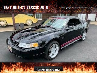 2000 Ford Mustang for sale at Gary Miller's Classic Auto in El Paso IL