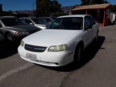2002 Chevrolet Malibu for sale at Goleta Motors in Goleta CA