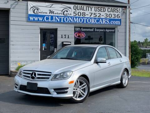 2013 Mercedes-Benz C-Class for sale at Clinton MotorCars in Shrewsbury MA
