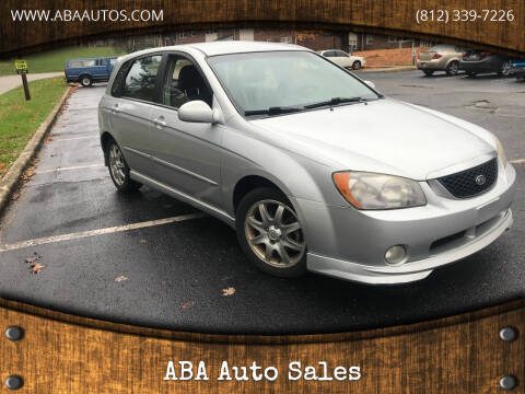 2006 Kia Spectra for sale at ABA Auto Sales in Bloomington IN