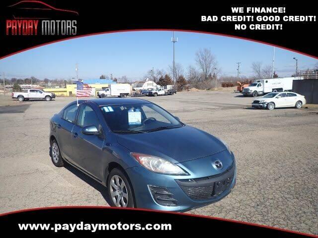 2011 Mazda MAZDA3 for sale at Payday Motors in Wichita And Topeka KS