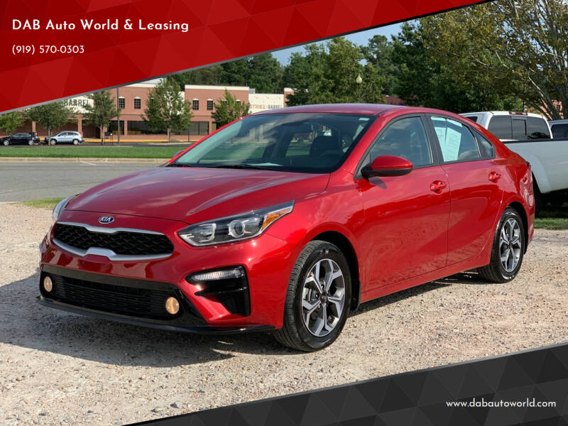 2019 Kia Forte for sale at DAB Auto World & Leasing in Wake Forest NC