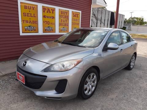 2012 Mazda MAZDA3 for sale at Mack's Autoworld in Toledo OH