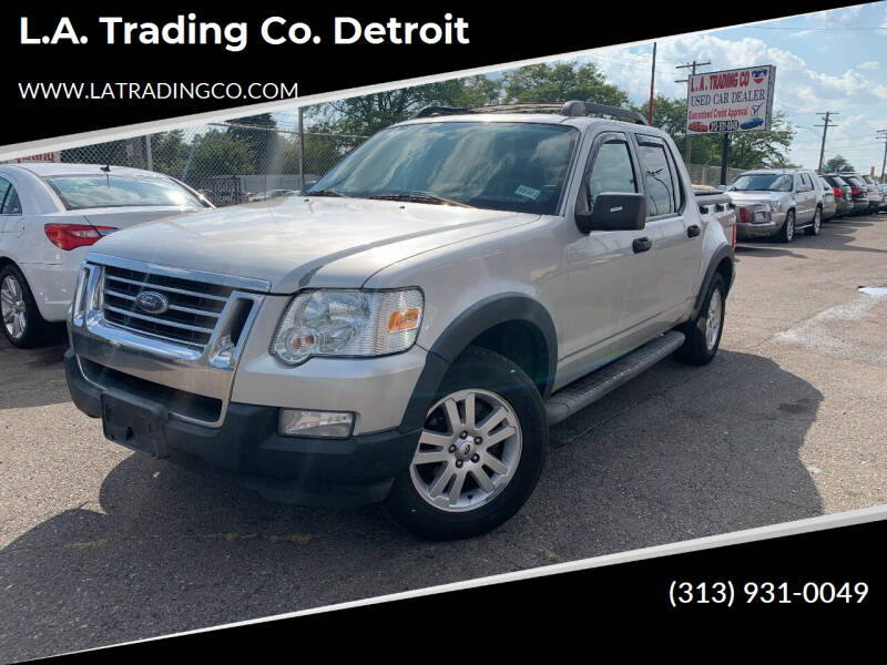 2010 Ford Explorer Sport Trac for sale at L.A. Trading Co. Detroit in Detroit MI