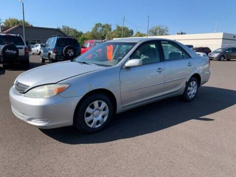 2002 Toyota Camry for sale at Paris Motors Inc in Grand Rapids MI