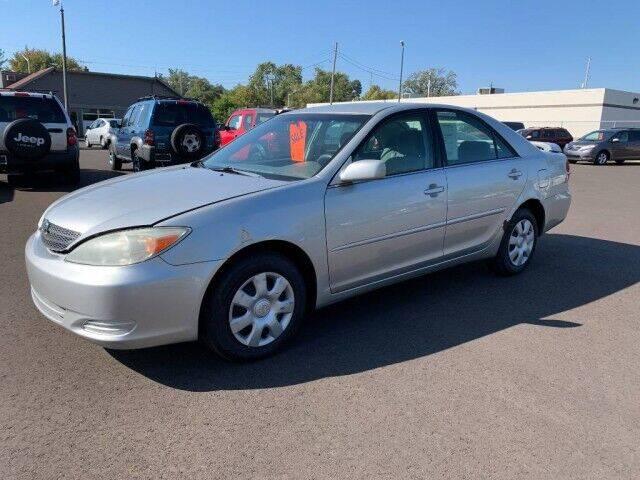 2002 Toyota Camry for sale at Paris Motors Inc in Grand Rapids MI