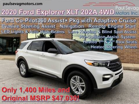 2020 Ford Explorer for sale at Paul Sevag Motors Inc in West Chester PA
