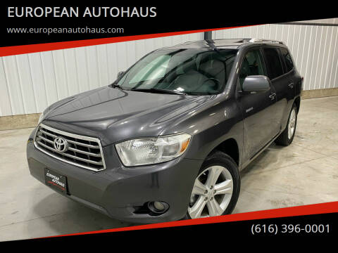 2010 Toyota Highlander for sale at EUROPEAN AUTOHAUS in Holland MI