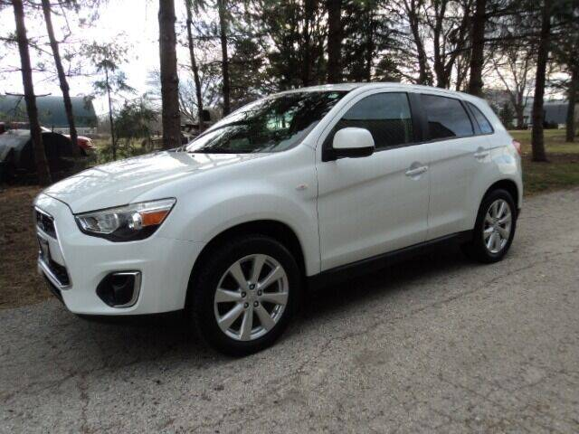2015 Mitsubishi Outlander Sport for sale at HUSHER CAR COMPANY in Caledonia WI