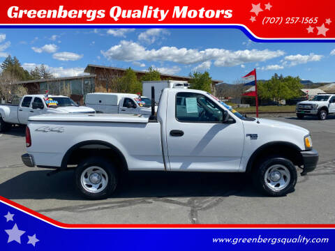 2003 Ford F-150 for sale at Greenbergs Quality Motors in Napa CA
