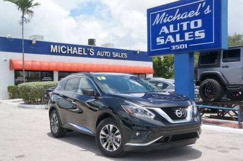 2018 Nissan Murano for sale at Michael's Auto Sales Corp in Hollywood FL