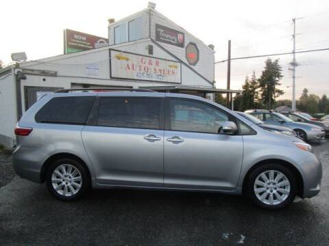 2015 Toyota Sienna for sale at G&R Auto Sales in Lynnwood WA