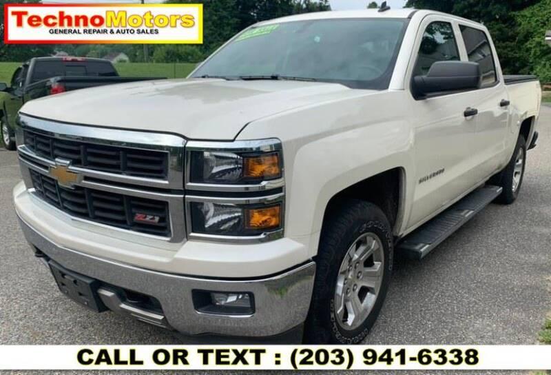 2014 Chevrolet Silverado 1500 for sale at Techno Motors in Danbury CT