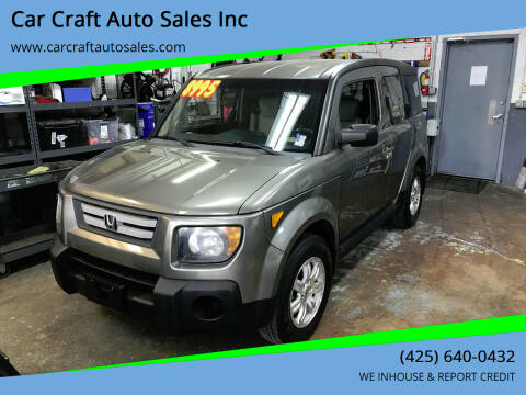 2008 Honda Element for sale at Car Craft Auto Sales Inc in Lynnwood WA