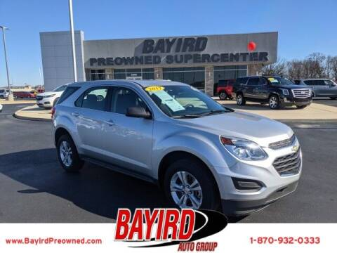 2017 Chevrolet Equinox for sale at Bayird Truck Center in Paragould AR
