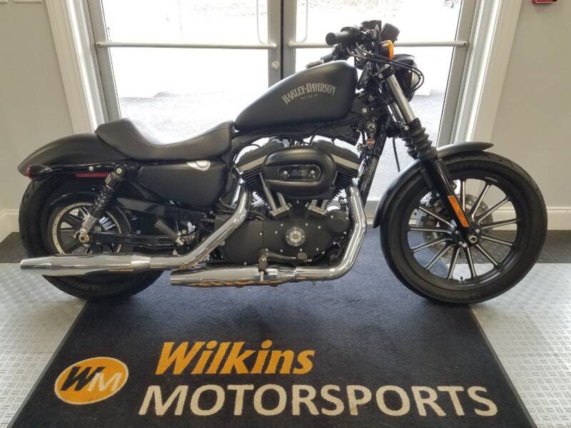 2013 Harley-Davidson Sportster Iron 883 for sale at WILKINS MOTORSPORTS in Brewster NY