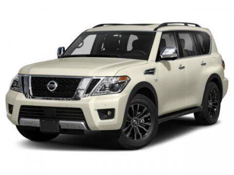 2018 Nissan Armada for sale at Scott Evans Nissan in Carrollton GA