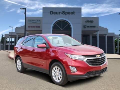 2019 Chevrolet Equinox for sale at DEUR-SPEET MOTORS in Fremont MI