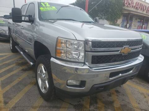 2012 Chevrolet Silverado 2500HD for sale at USA Auto Brokers in Houston TX