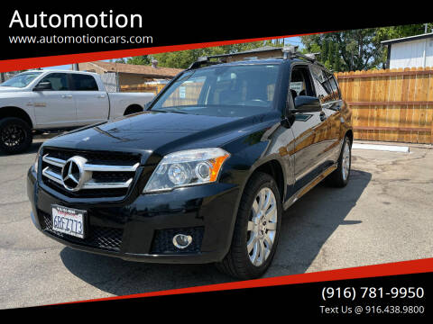 2011 Mercedes-Benz GLK for sale at Automotion in Roseville CA