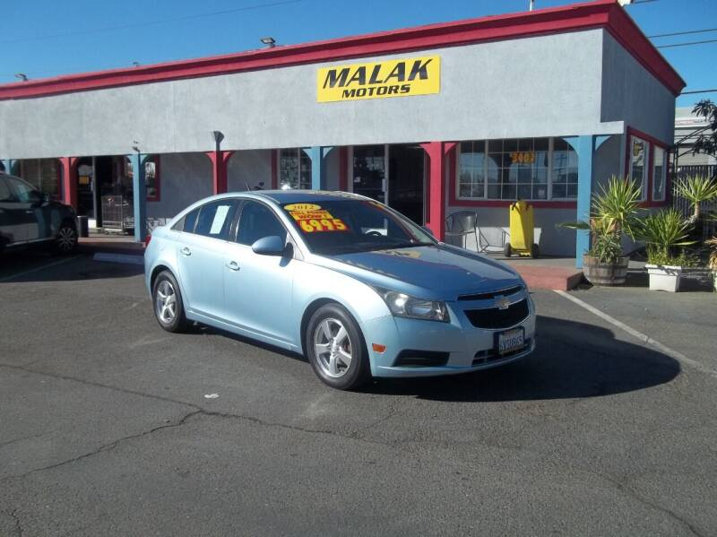 2012 Chevrolet Cruze for sale at Atayas Motors INC #1 in Sacramento CA