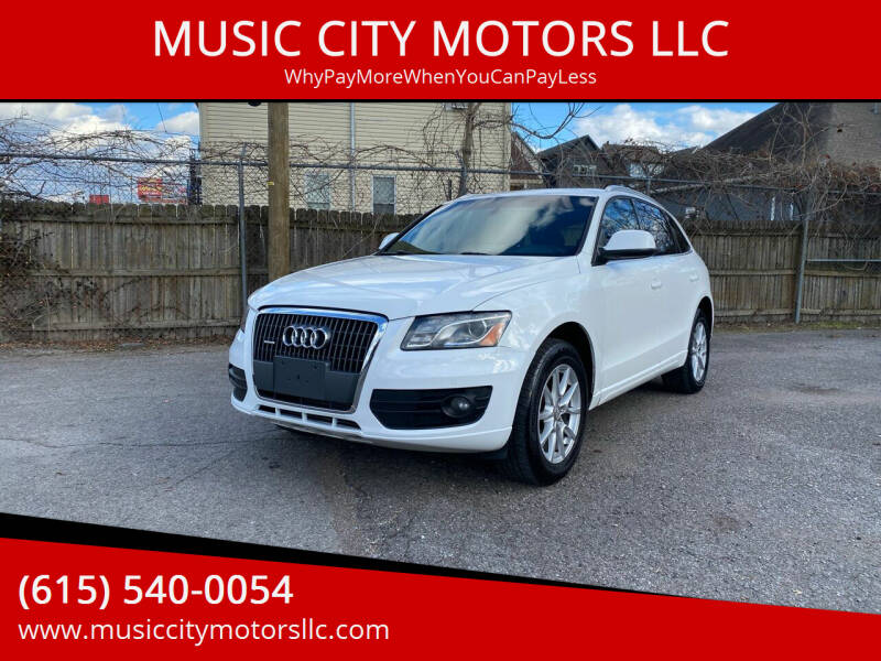 2012 Audi Q5 for sale at MUSIC CITY MOTORS LLC in Nashville TN