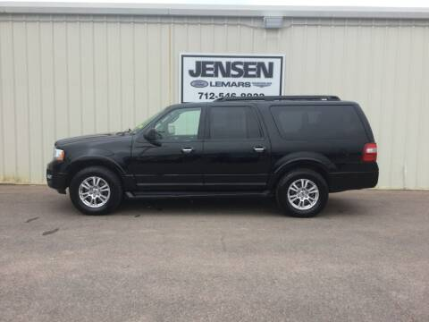 2017 Ford Expedition EL for sale at Jensen's Dealerships in Sioux City IA