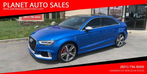 2017 Audi RS 3 for sale at PLANET AUTO SALES in Lindon UT