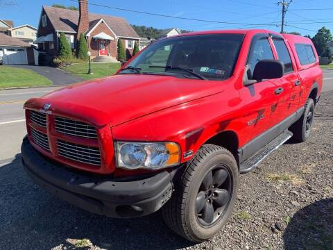 2003 Dodge Ram Pickup 1500 for sale at Trocci's Auto Sales in West Pittsburg PA