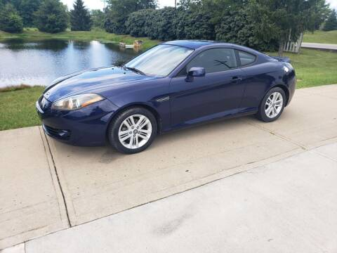 2007 Hyundai Tiburon for sale at Exclusive Automotive in West Chester OH